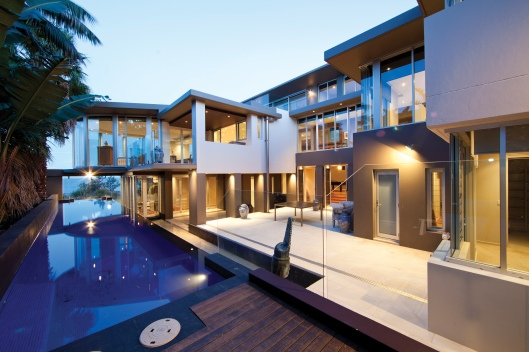 Architecture than embraced the site makes this property extraordinary.