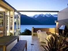 25 Drift Bay terrace view to die for